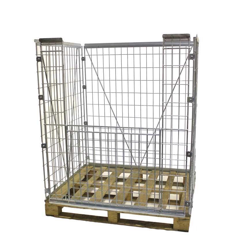 Stackable Mesh Pallet Cages 30 48 Kg Ese Direct