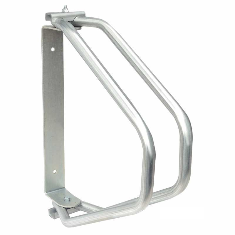 1 Amp 3 Section Wall Mounted Adjustable Cycle Rack Ese Direct