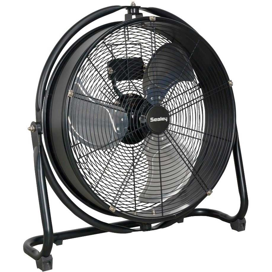 High Velocity Industrial Fans : Sealey hvf s quot industrial high velocity drum fan ese