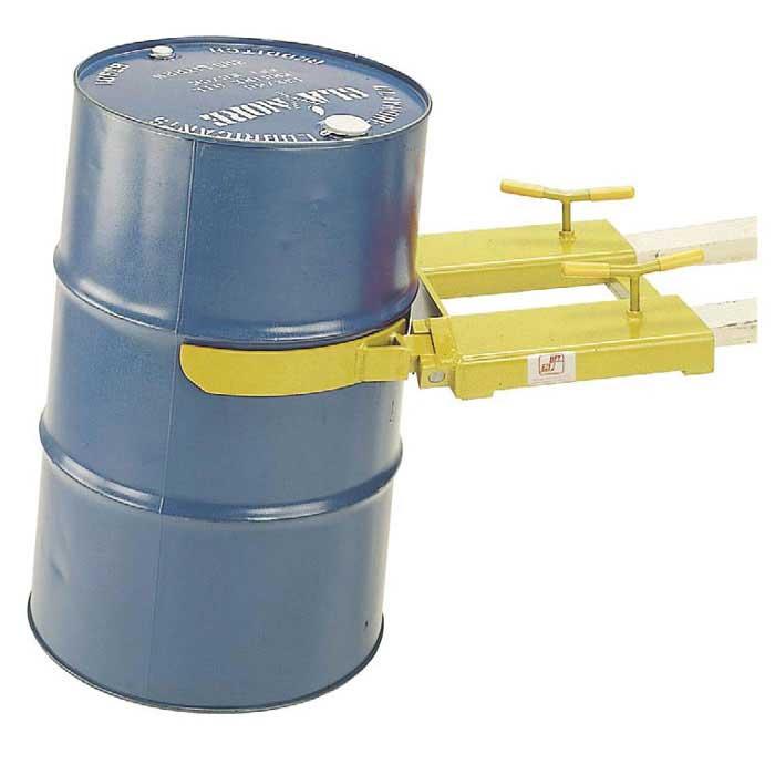 210 Litre Drum Clamp forklift attachment