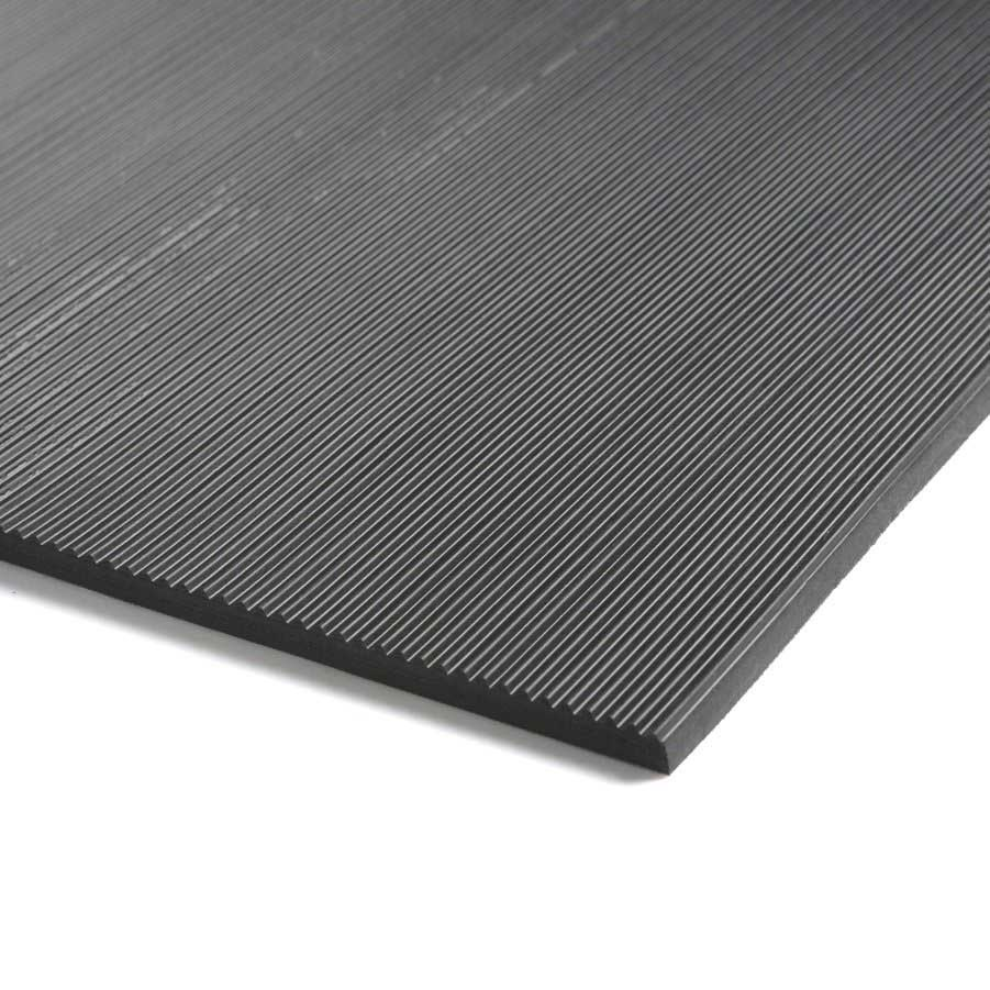 Standard Fine Fluted Rubber Matting 3mm Or 6mm Thick Ese
