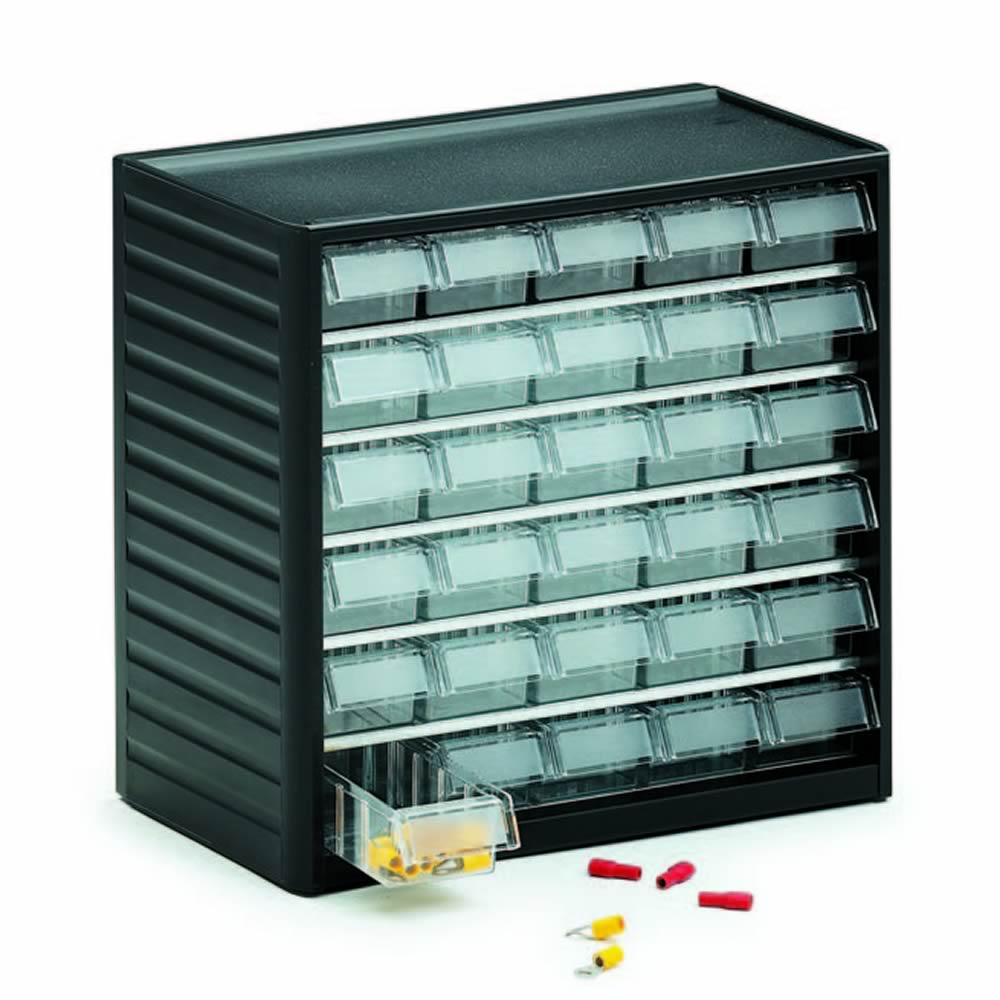 Clearbox Storage Drawer System with pull down fronts - ESE Direct