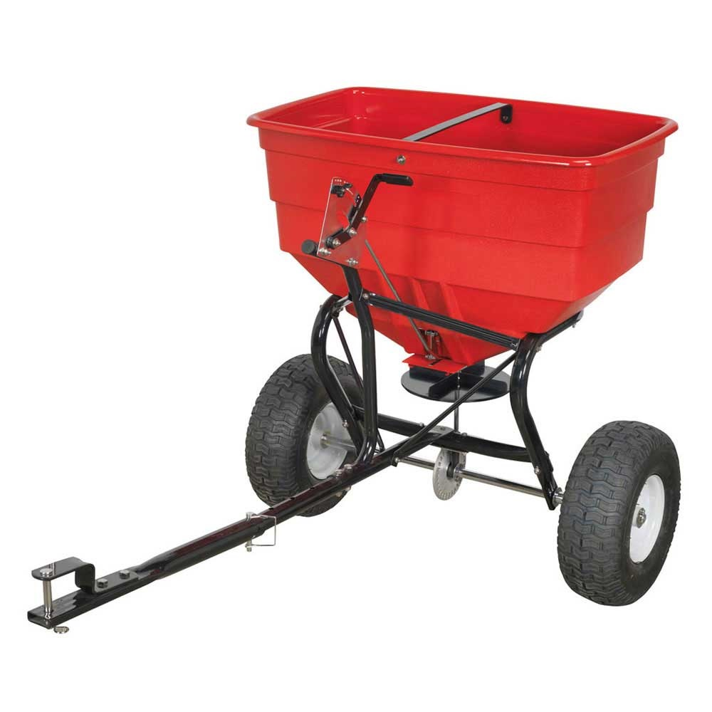 Tow Behind Broadcast Spreader : Sealey tow behind broadcast salt spreader ese direct