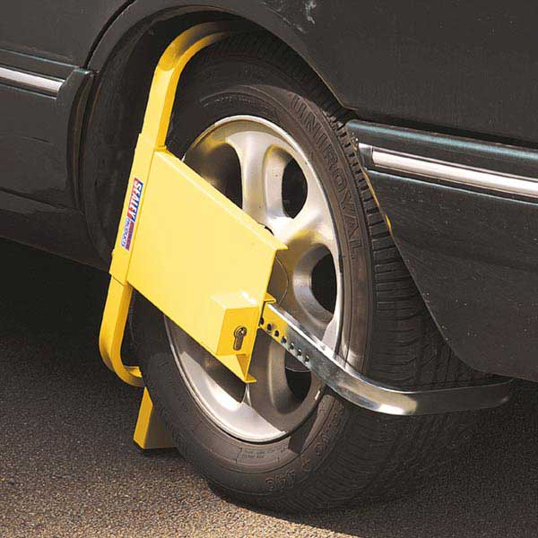 Sealey Pb397 Wheel Clamp With Coverplate Ese Direct