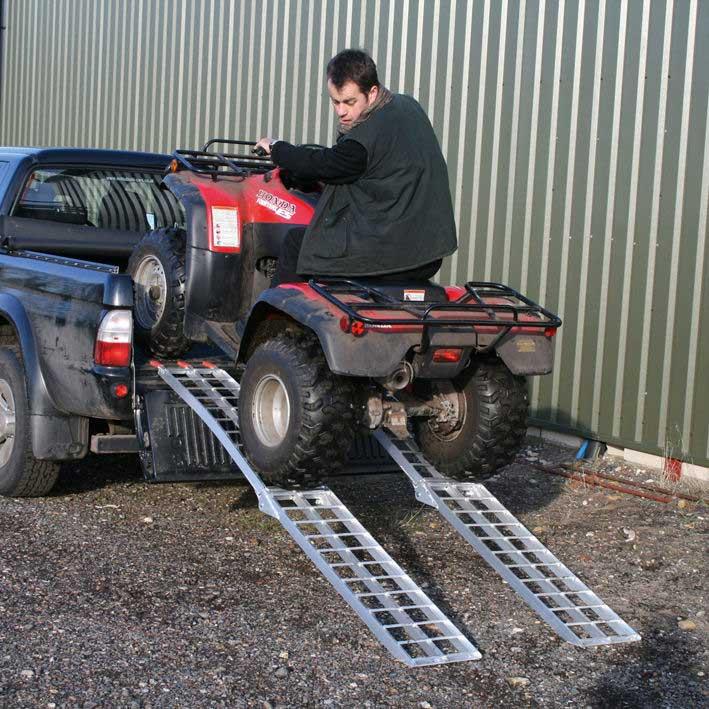 Sealey Lr680 Aluminium Vehicle Loading Ramps Ese Direct
