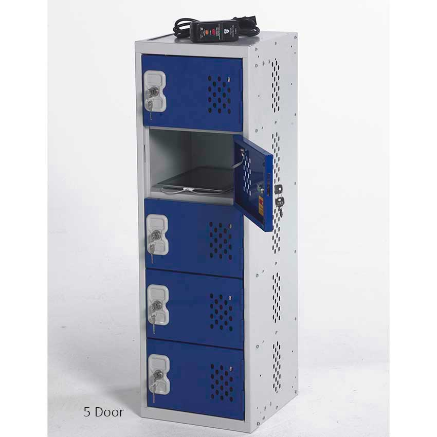 In Charge Personal Item Lockers Secure Charging