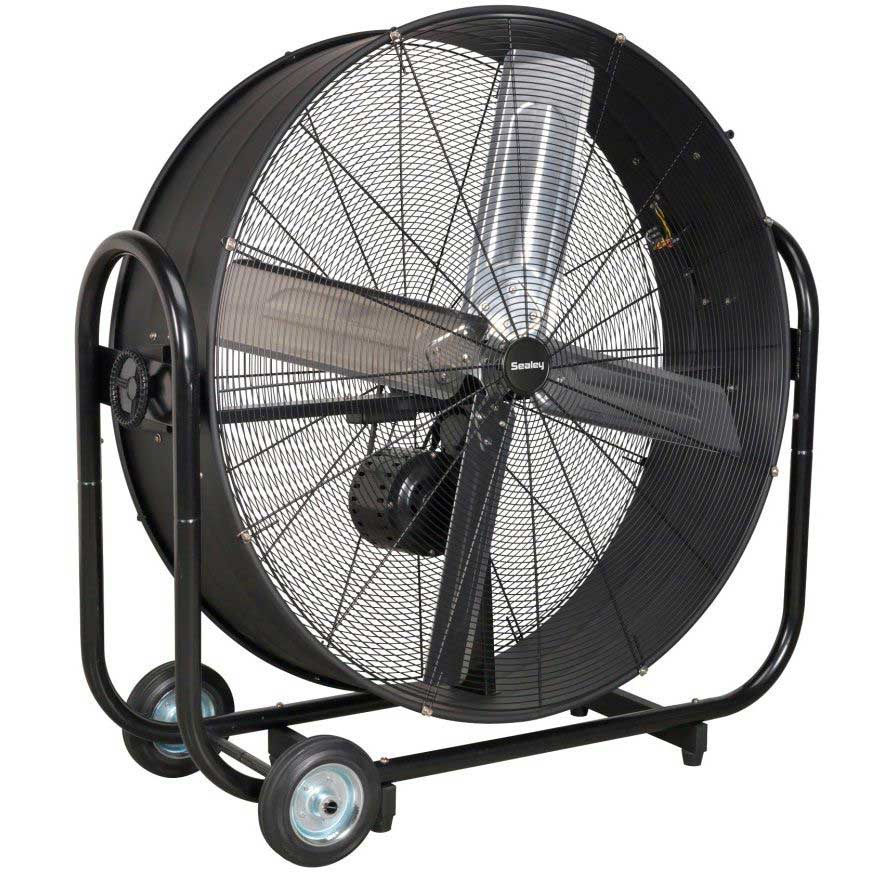 Product Industrial Fans : Sealey hvd b quot industrial high velocity drum fan ese