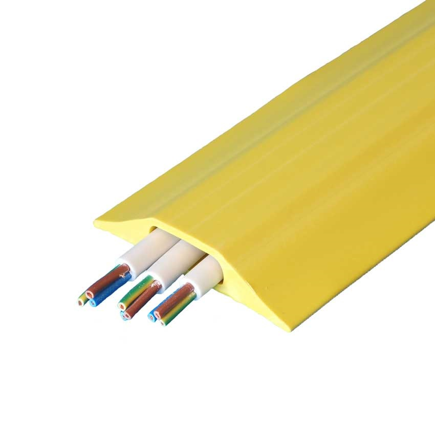 9m low volt yellow cable cover ese direct. Black Bedroom Furniture Sets. Home Design Ideas