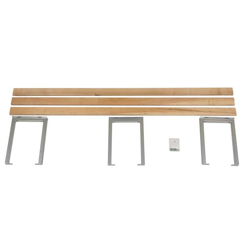 Good Bench Form: Classic Heartwood Basic Changing Bench Seating