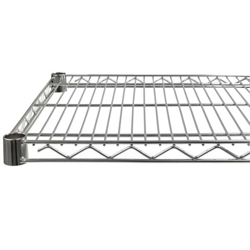 Eclipse Chrome Wire Shelving With 4 Shelves Ese Direct