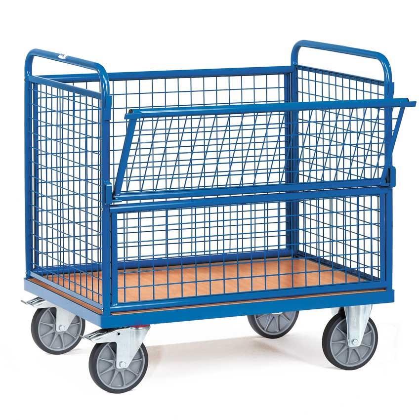 Wire Mesh Box Trucks Trolleys Hand Carts