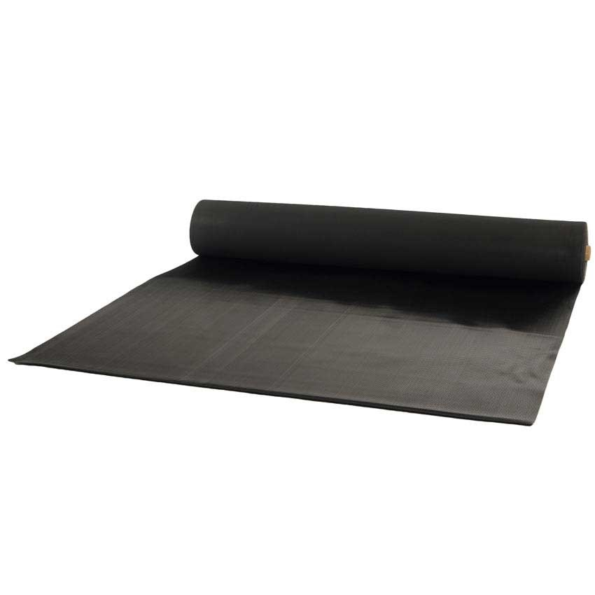 Standard Fine Fluted Rubber Matting 3mm Or 6mm Thick 10m