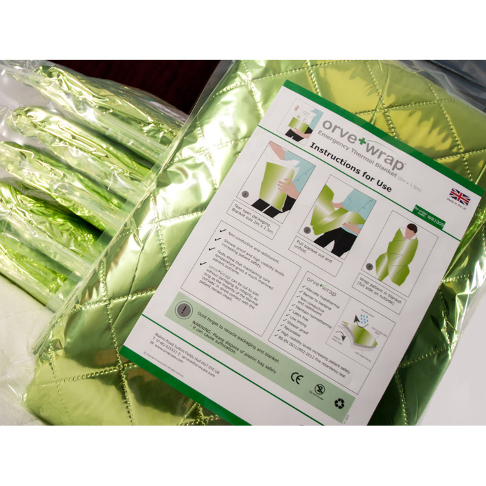 Orve Wrap Emergency Blanket Ese Direct