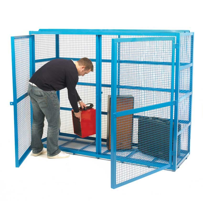 Fully Welded Steel Mesh Security Cages