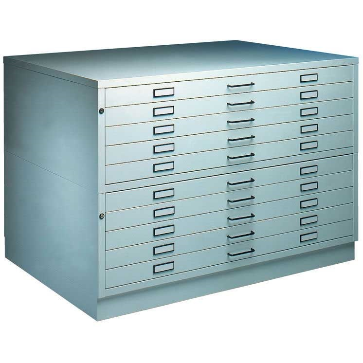 A1 Amp A0 10 Drawer Steel Plan Chest Drawing Chests