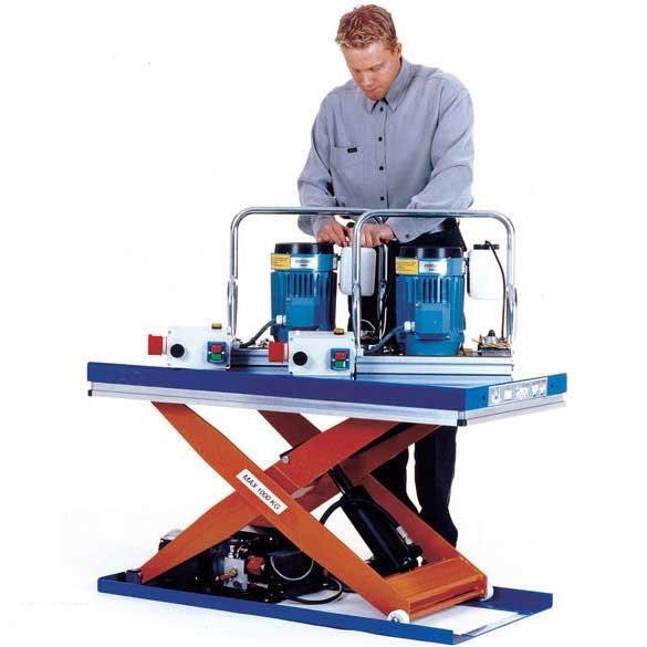 Budget Cheap Scissor Lift Tables 500kg To 2 000kg Capacity