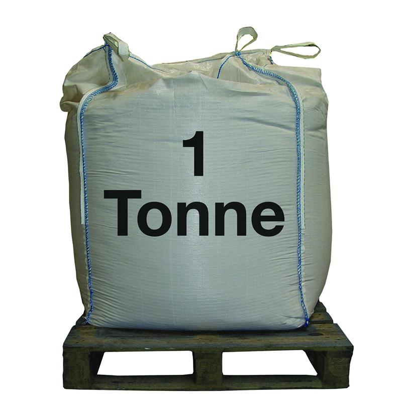 Pallet of 40 Bags of 5kg White Road De-icing Rock Salt bags