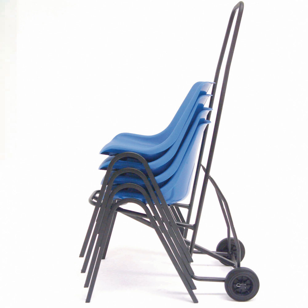 Chair Trolley with Rubber Wheels