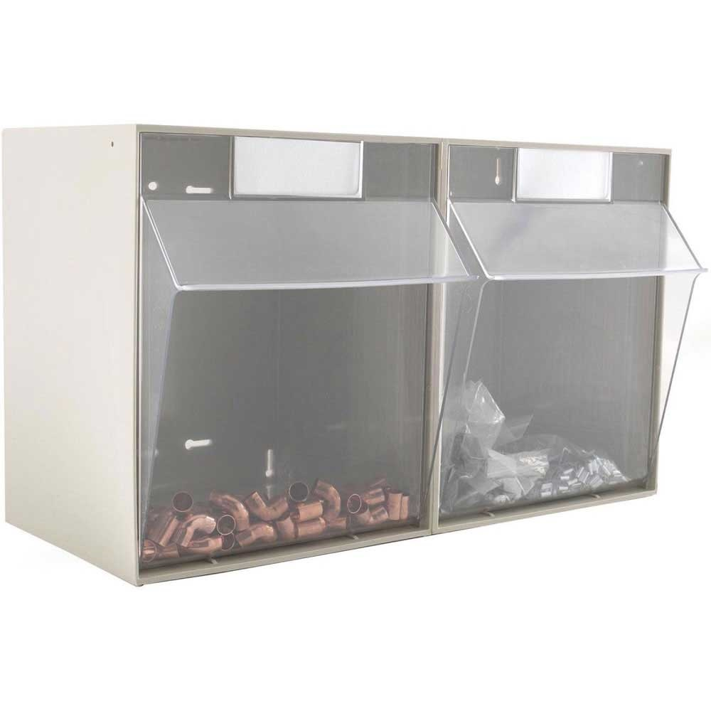 Clearbox Storage Drawer System With Pull Down Fronts Ese
