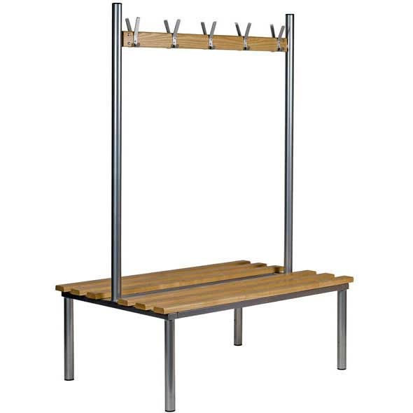 Club Round Frame Duo Cloakroom Bench Seat