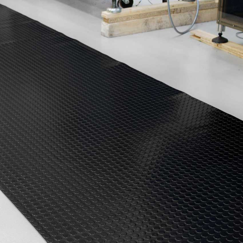 Amazing rubber dot flooring images flooring area rugs for Rubber wood flooring