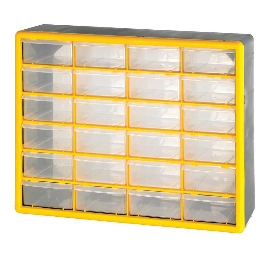 Small Parts Storage Boxes With Removable Compartments Ese Direct