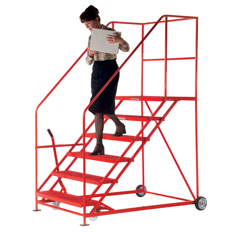 Easy Slope 45° Safety Steps 559mm Wide 3 to 12 Metal Treads