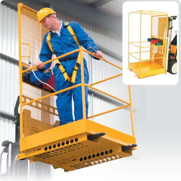 Economy Forklift Platform Attachment