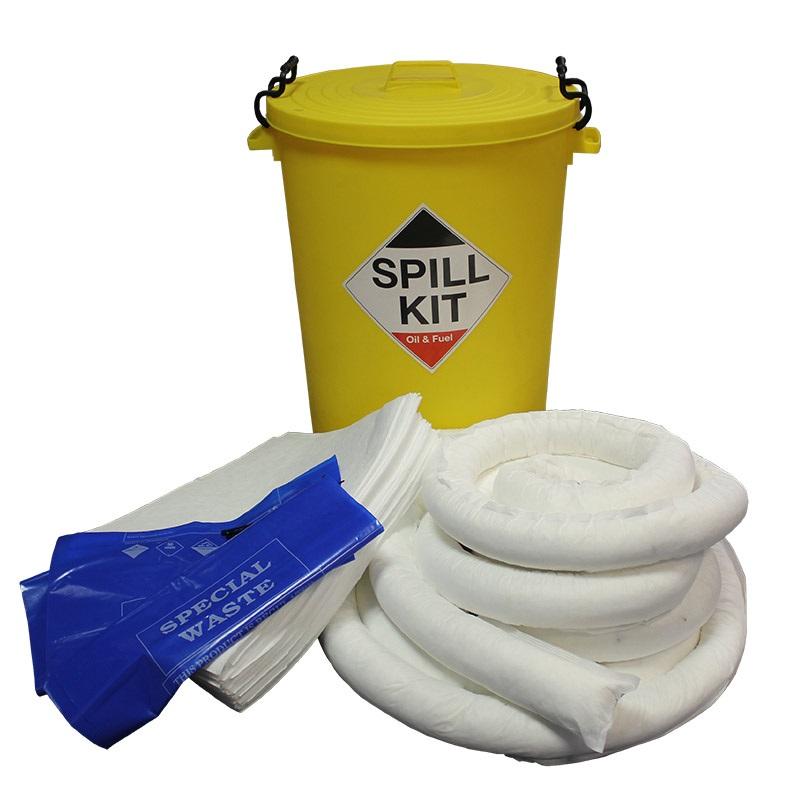 Emergency Spill Kits Oil Stores Large Workshop Kit