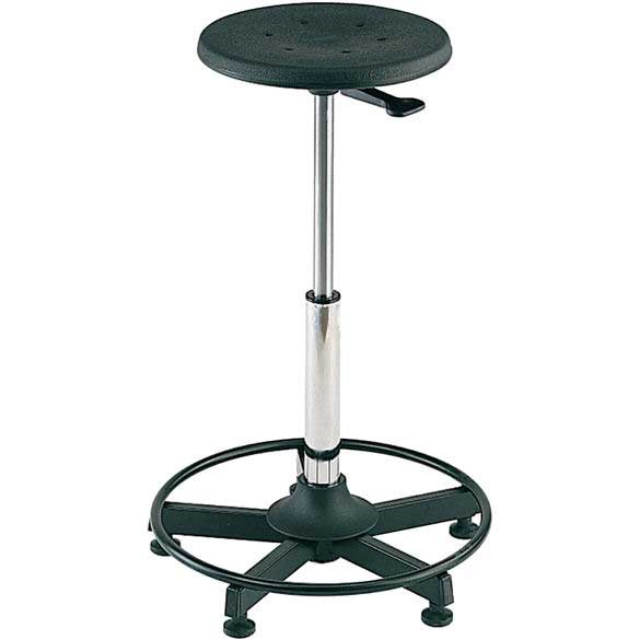 Fixed Workshop Work Stool On 5 Star Base 88601020 Ese Direct