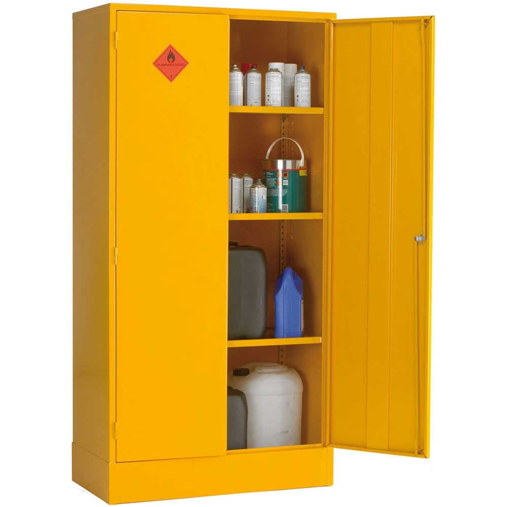 Flammable liquid storage cabinets for Storage in cupboards