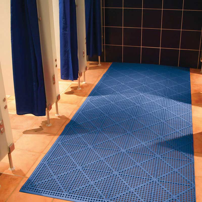 Flexi Deck Textured Pvc Floor Tiles Edging Corners 13mm