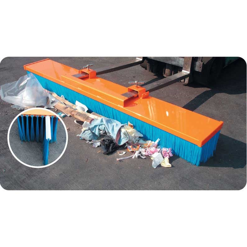 Forklift Brushes Fork Mounted Sweeper Brush Attachment