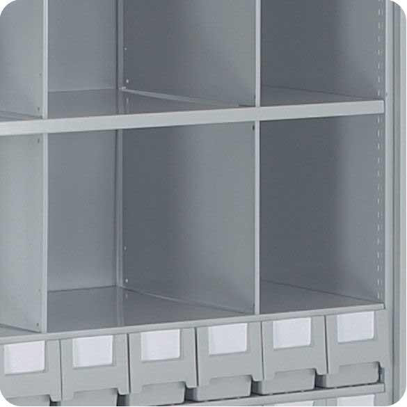 Full Height Shelf Dividers For Stormor Shelving Ese Direct