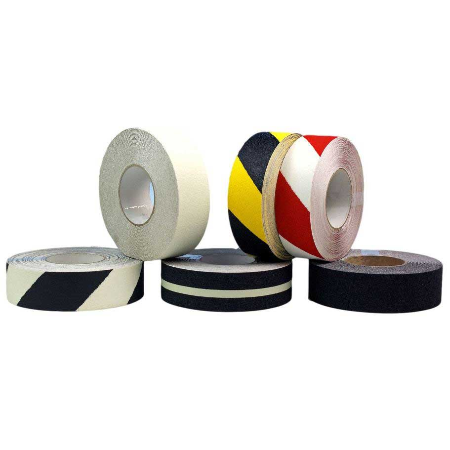 Safety Grip Anti Slip Floor Tape   12 Colour Options