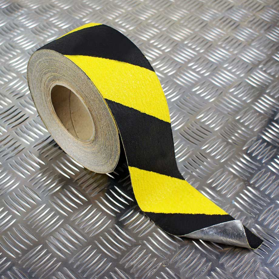 Anti Slip Floor Safety Grooving : Safety grip conformable anti slip floor tape cleats