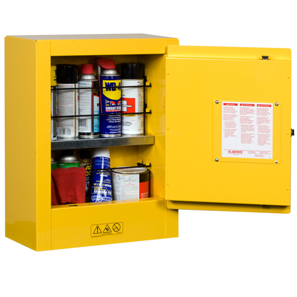 Justrite Safety Flammable Storage Cabinets With Free Delivery