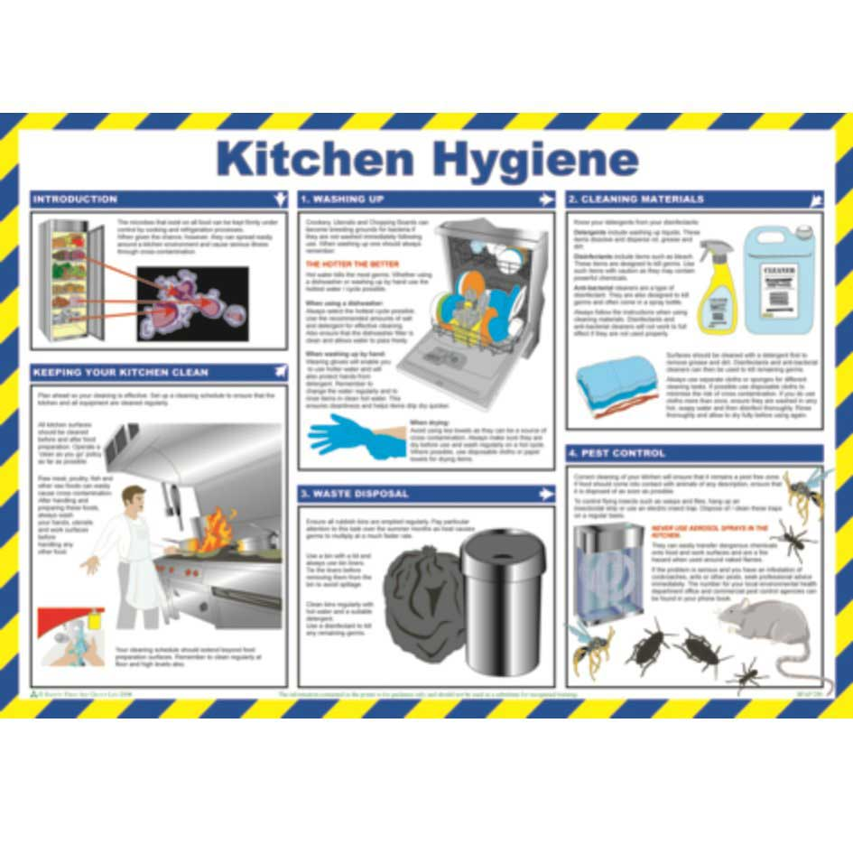 Kitchen Hygiene Poster - ESE Direct