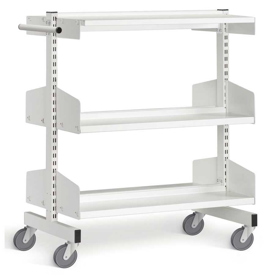 Pleasing Library Mobile Shelving Trolley Interior Design Ideas Tzicisoteloinfo