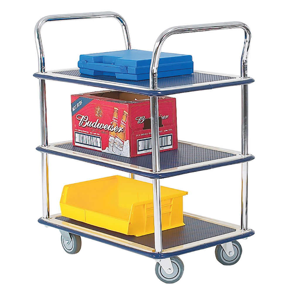 Lightweight 3 Tier Shelf Trolley