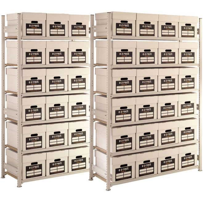 Lightweight Archive Storage Shelving 6 Boxes High  sc 1 st  ESE Direct & Lightweight Archive Storage Shelving 6 Boxes High - ESE Direct