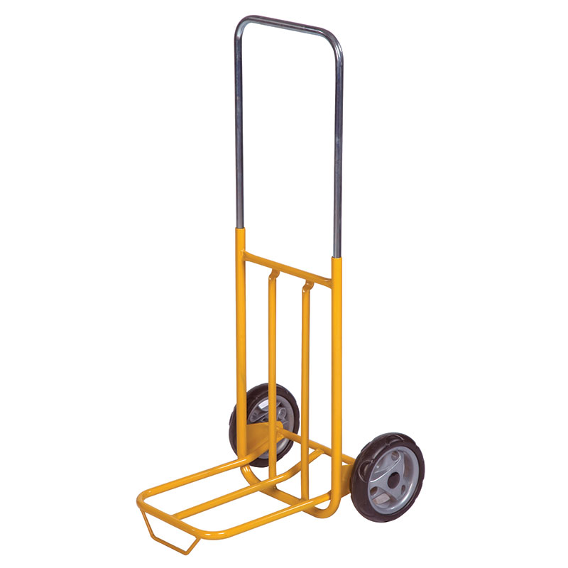 Lightweight HandTruck with Telescopic Frame & Folding Footiron