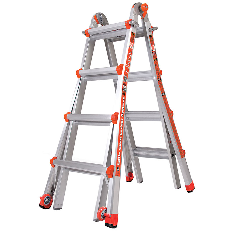 6ft Multi Purpose Step Ladders : Little giant multi purpose ladder ese direct