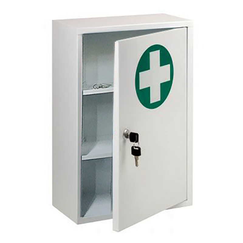 lockable first aid cabinet f40023. Black Bedroom Furniture Sets. Home Design Ideas
