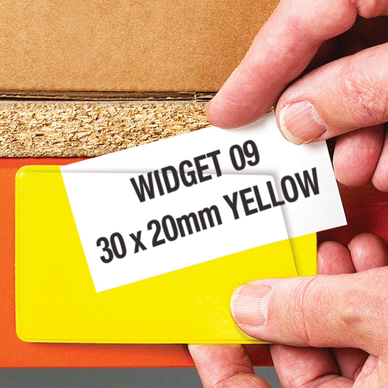 Magnetic Label Pouches For Shelving Racking Signs