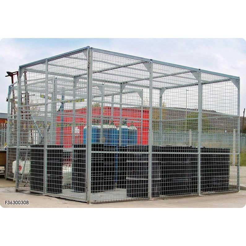 Maxibox Secure Mesh Storage Enclosures / Cages