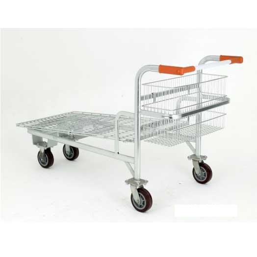 Nestable Cash Amp Carry Platform Truck With Integral Rear