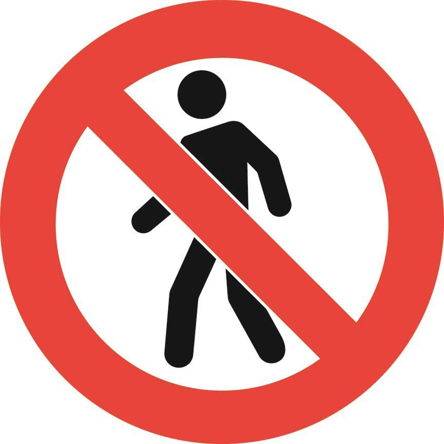 No People Graphic Floor Marker Ese Direct