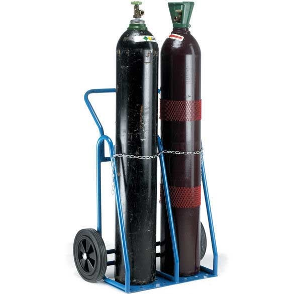 Oxy Acetylene Double Cylinder Trucks Twin Cylinder