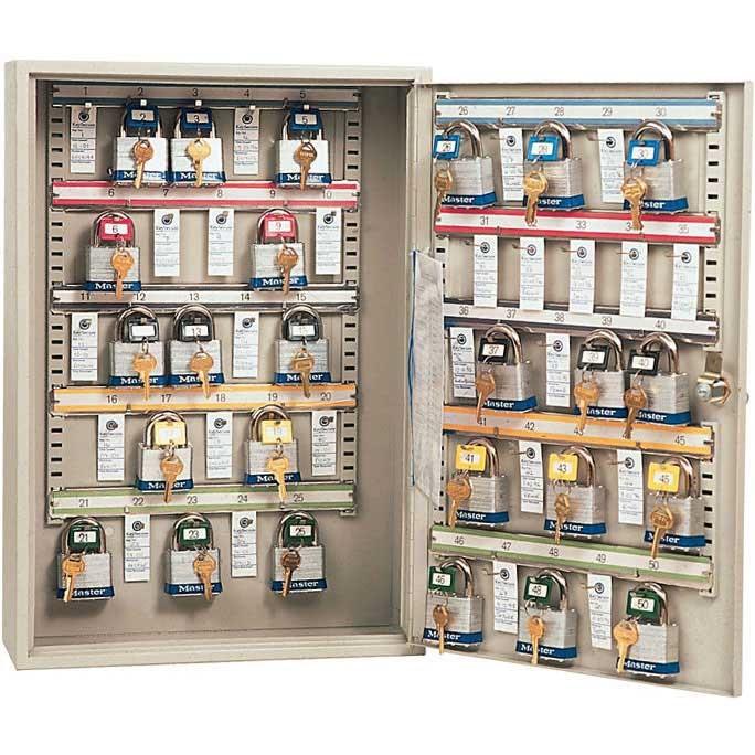 Padlock Storage Cabinets for 25 to 100 padlocks